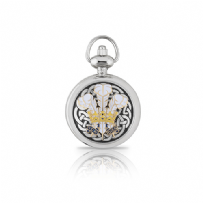 Enamelled Welsh Feathers Ladies Watch